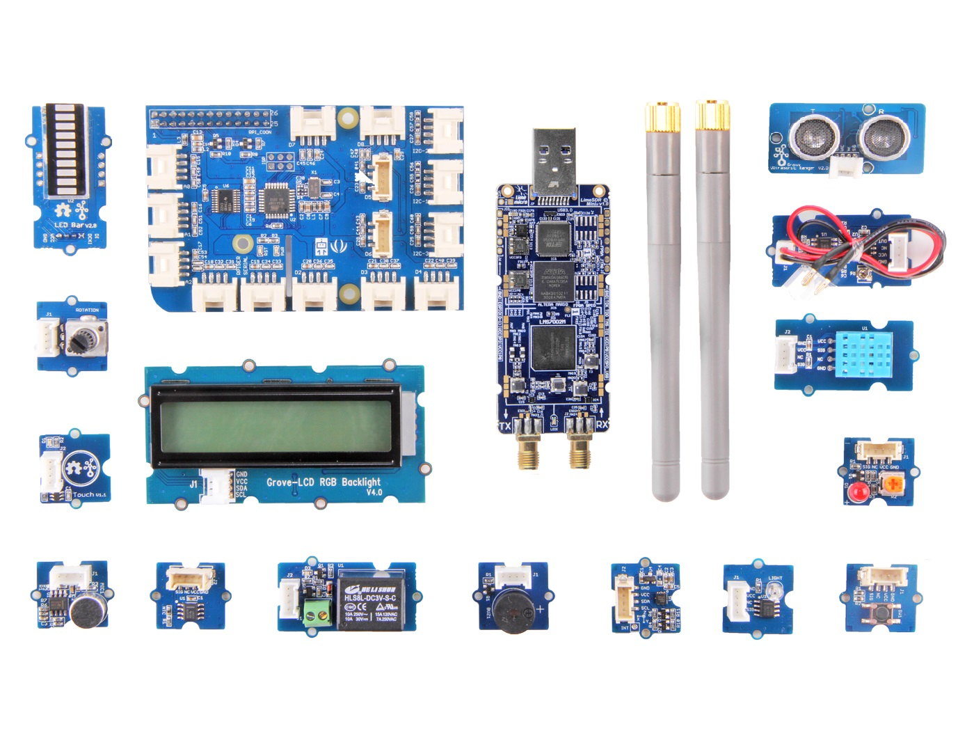 SDR starter kit developed for Raspberry Pi, Grove and