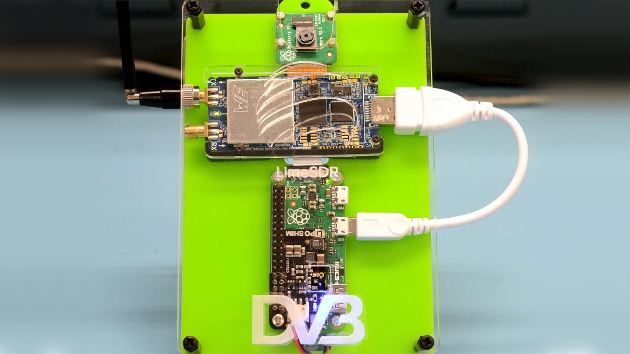 Raspberry Pi DVB Transmitter - Lime Microsystems