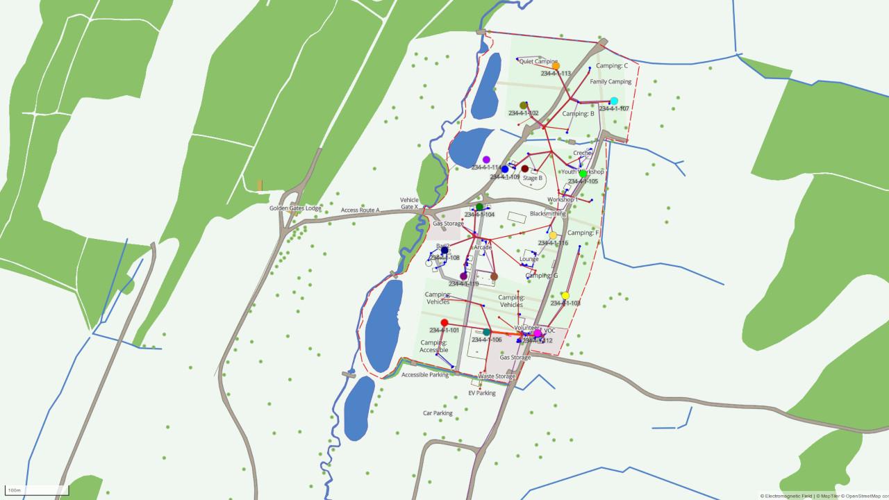 EMF Camp 2018 Map
