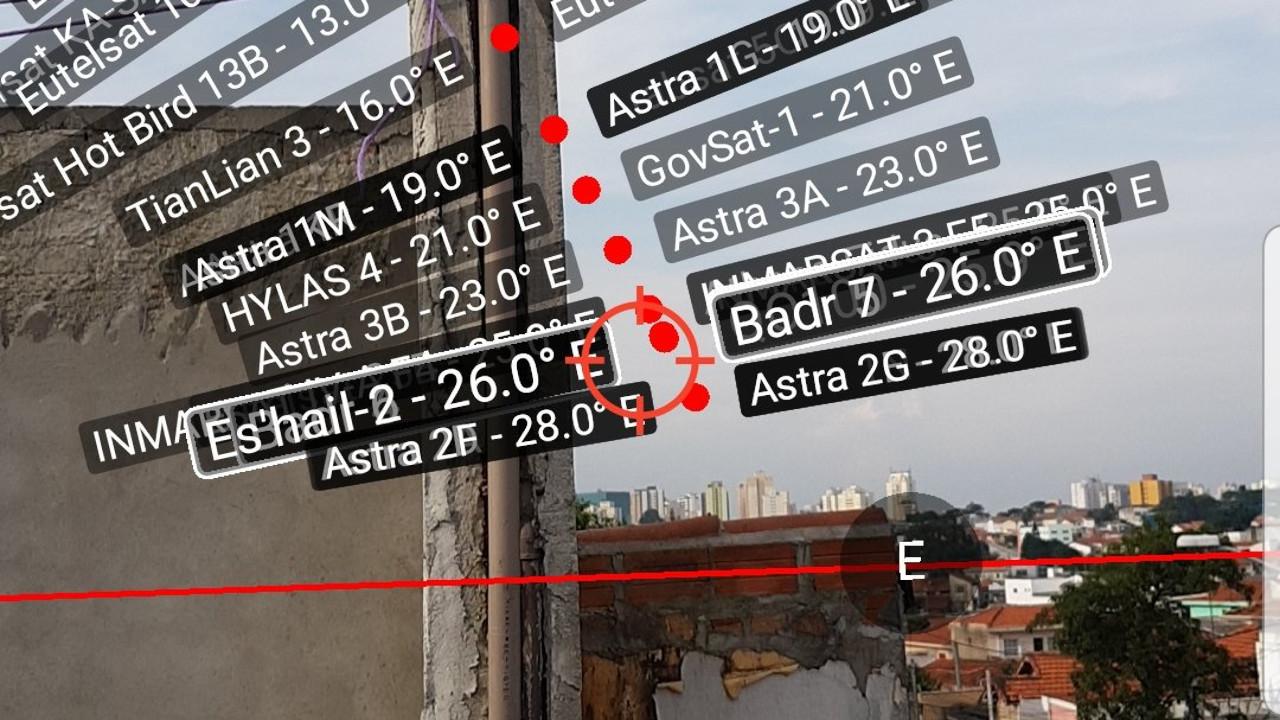 Lukas Teske Checking QO-100 Visibility